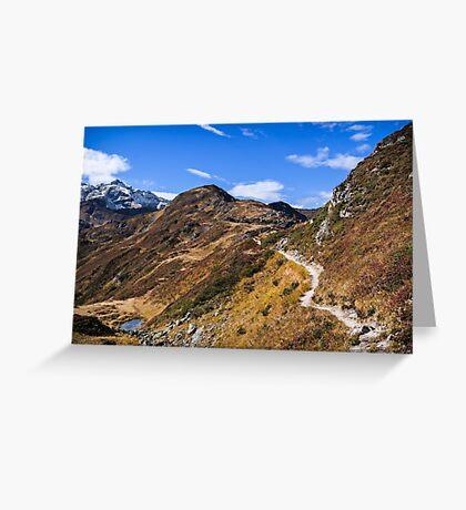 Golm (Alps, Austria) #1 Greeting Card