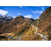 Golm (Alps, Austria) #1 Photographic Print