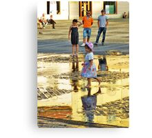 Golden Light of the Afternoon Canvas Print
