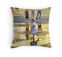 Golden Light of the Afternoon Throw Pillow