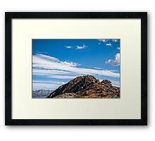 Golm (Alps, Austria) #3 Framed Print
