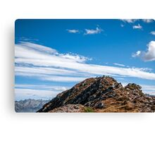 Golm (Alps, Austria) #3 Canvas Print