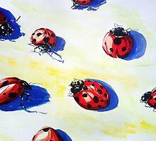 Ladybugs Bring Good Luck by ZlatkoMusicArt