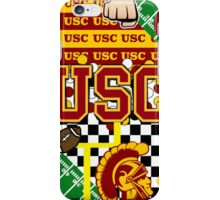 UNIVERSITY OF SOUTHERN CALIFORNIA COLLAGE iPhone Case/Skin