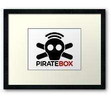 Pirate Box logo Framed Print