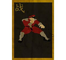 FIGHT: M. Bison Photographic Print