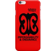 16-iphone4-Adinkra-Series-Endurance iPhone Case/Skin