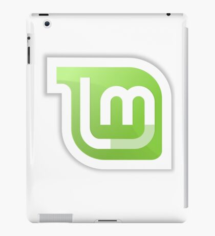 Linux Mint logo iPad Case/Skin