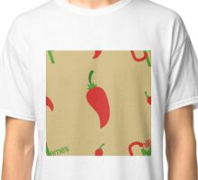 Chilli Memes Pattern Classic T-Shirt
