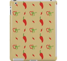 Chilli Memes Pattern iPad Case/Skin