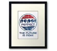 Pepsi Perfect - Distressed Framed Print
