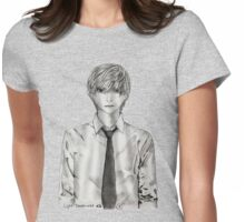 Light Yagami - Death Note Womens Fitted T-Shirt
