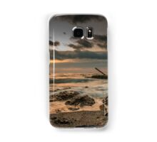 Silence of the waves Samsung Galaxy Case/Skin