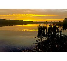 Sunrise on Whitlingham Broad Photographic Print