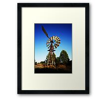 The Windmill 2 Framed Print