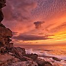 Sunrise over Bondi by Adriano Carrideo