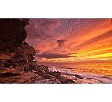 Sunrise over Bondi Photographic Print
