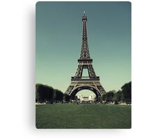Champ de Mars Canvas Print