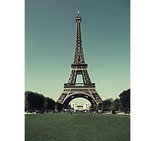 Champ de Mars Photographic Print