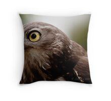 Barking owl 2 Throw Pillow