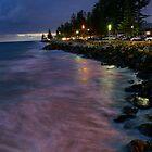 Brighton Beach at Night by sedge808