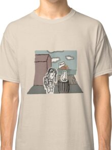 The Girl at the Dock's meet's a Cat Classic T-Shirt