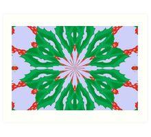 Green For Christmas Art Print