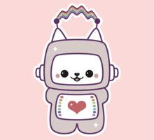 Cute Cat Bot Baby Tee