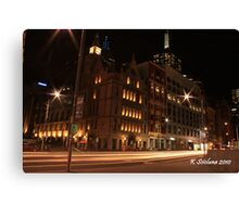 Shining by in the city Canvas Print