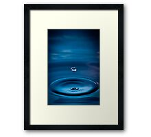 Zen Drop Framed Print