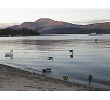 Luss At The End Of The Day, Scotland Photographic Print