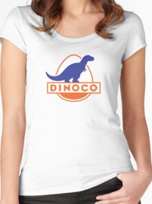Dinoco (Cars) Women's Fitted Scoop T-Shirt