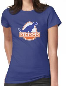 Dinoco (Cars) Womens Fitted T-Shirt