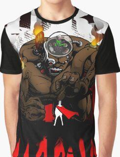 Professor Mad Brainer Smash! Graphic T-Shirt