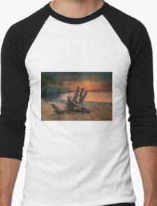 A seashore from Blacksea Men's Baseball ¾ T-Shirt