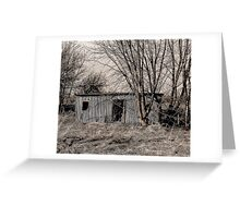 Dead Shed Greeting Card