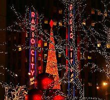 City Lights by Barbara  Brown