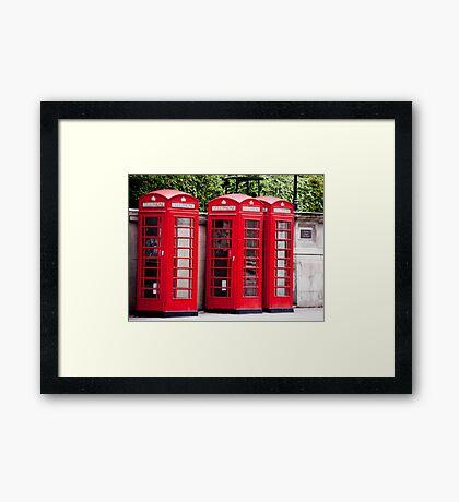 Classic London Framed Print