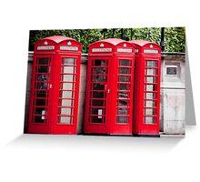 Classic London Greeting Card