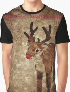 Fröhliche Weihnachten (Rudy-Version) Graphic T-Shirt