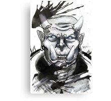 Somewhat miffed Orc Canvas Print