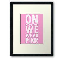 mean girls  Framed Print