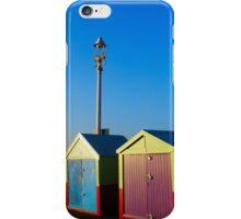 Hove Beach Huts iPhone Case/Skin
