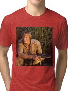 Austin Stevens with Alligator Tri-blend T-Shirt