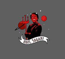 Hail Sagan! by merrypranxter
