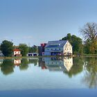 Silver Lake And Mill by James Brotherton