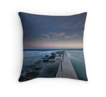 South Curl Curl Rock Pool Throw Pillow
