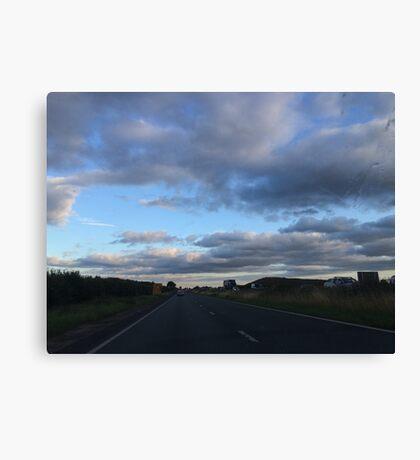 Teatime Driving Canvas Print