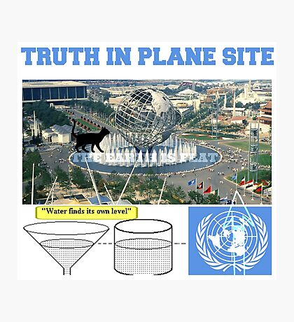 truth in plane site Photographic Print