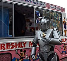 Cyberman with ice cream by LooseImages